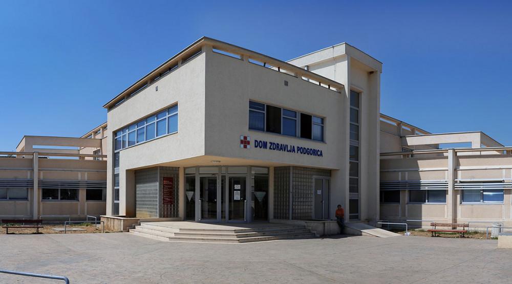 DOM ZDRAVLJA PODGORICA Odrađeno 38.559 pregleda, uslužnih intervencija i uzorkovanja u prethodnoj sedmici