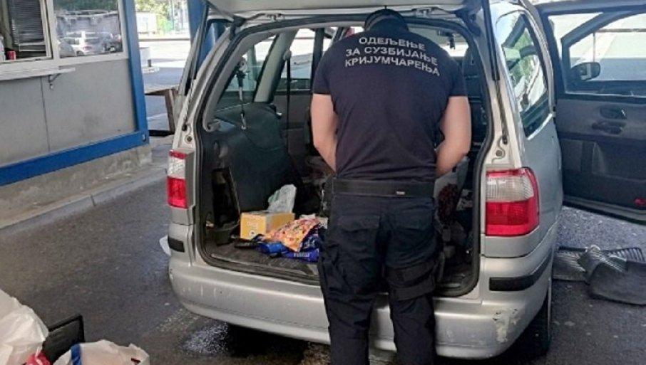 DROGU KRILI U BUNKERU: Velika zaplena narkotika na auto-putu kod Subotice