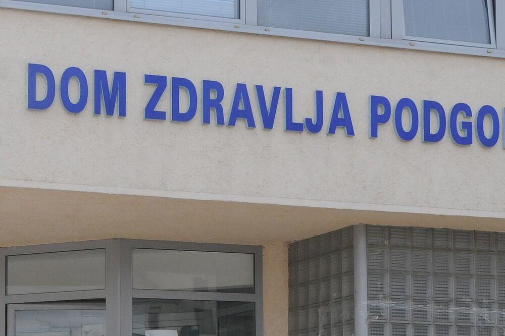DOM ZDRAVLJA PODGORICA Odrađeno je 40.315 pregleda, uslužnih intervencija i uzorkovanja