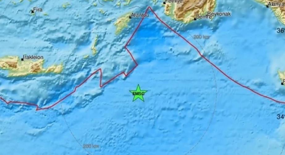 TRESLO SE U GRČKOJ Zemljotres pogodio Mediteran