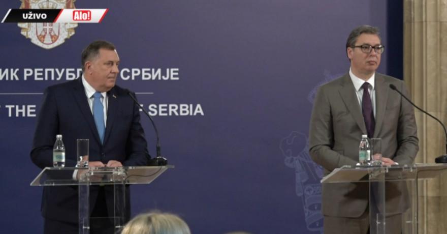 POVODOM NOVIH UDARA NA BANJALUKU Predsjednik Srbije se u Beogradu danas sastaje sa Dodikom