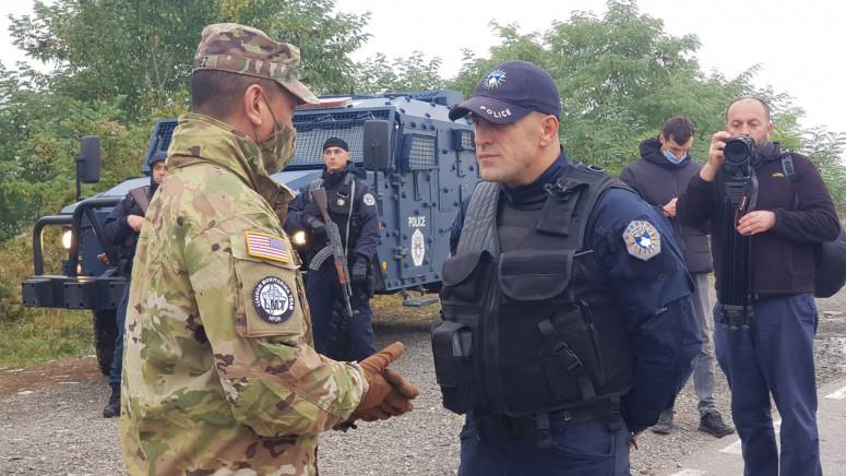 KFOR NAPUŠTA JARINJE I BRNJAK Trupe se danas povlače sa sjevera Kosova, bez vojske na prelazima