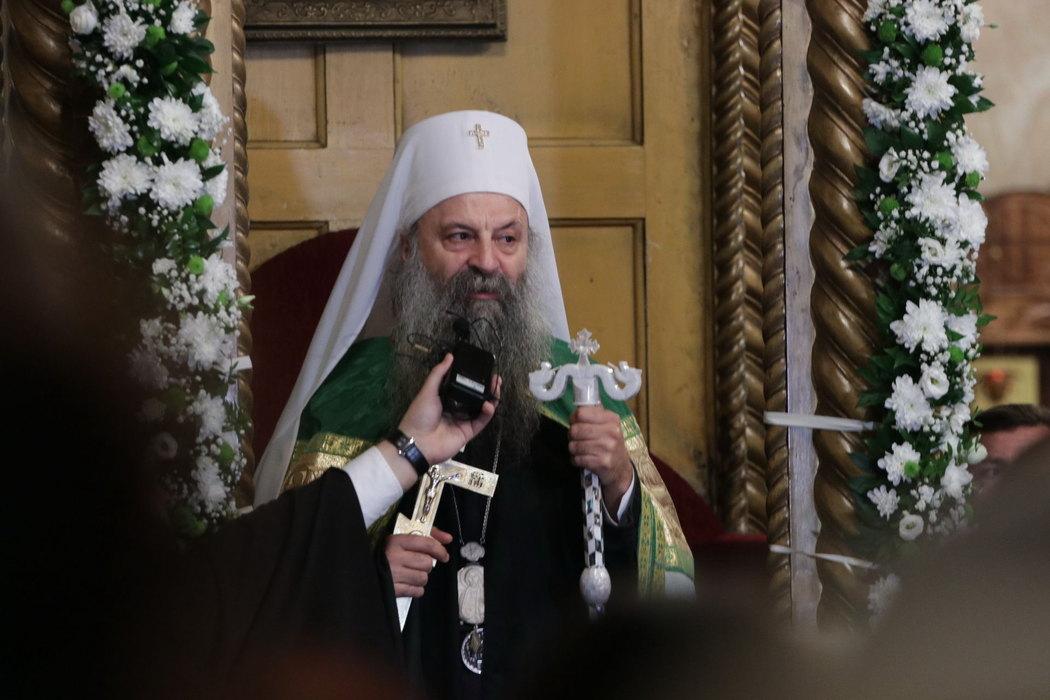 PATRIJARH PORFIRIJE NASTAVLJA POSJETU EPARHIJI BANJALUČKOJ Služiće Svetu arhijerejsku liturgiju u manastiru Miloševac