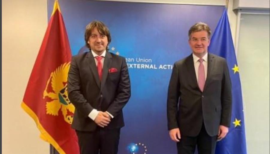 LAJČAK SE SASTAO SA MINISTROM SEKULOVIĆEM: Crna Gora da ostane na evropskom kursu