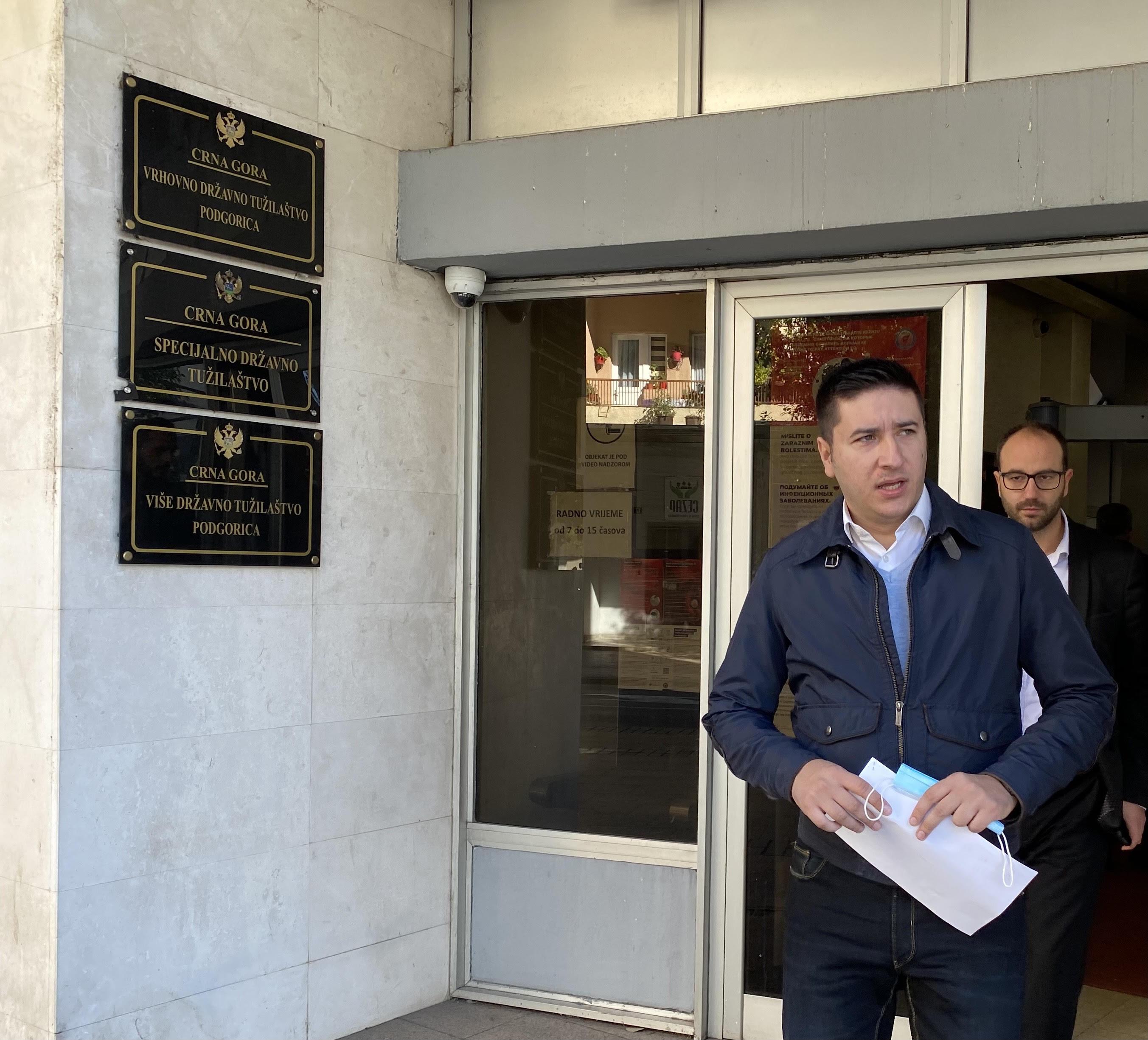 Dajković podnio krivičnu prijavu protiv Gradske TV (FOTO)
